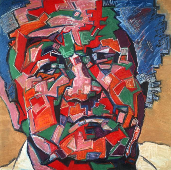 In This Korner, Painting by David Slader, Artist