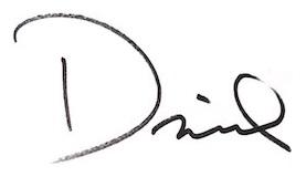 David Slader, Artist - Signature