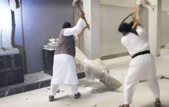 destruction of art, iraq